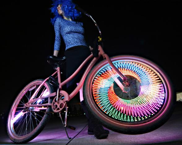 Как сделать чтобы был на велосипеде свет